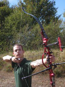 Arc olympique – Recurve avec viseur