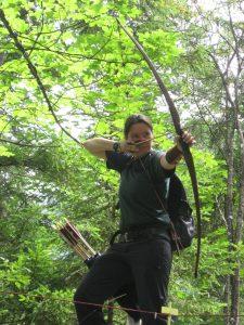 Laure et son longbow