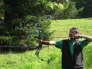 Arc à poulies – Compound avec viseur